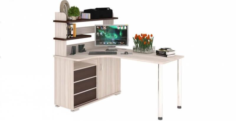 компьютерный стол ср 165м с надстройкой купить в москве и санкт